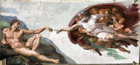 Creazione-di-Adamo-Michelangelo