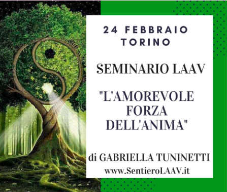 Laav Seminario Torino amorevole forza anima